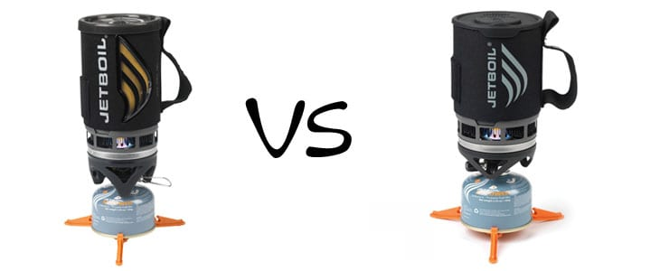 Jetboil Flash vs. Jetboil Zip