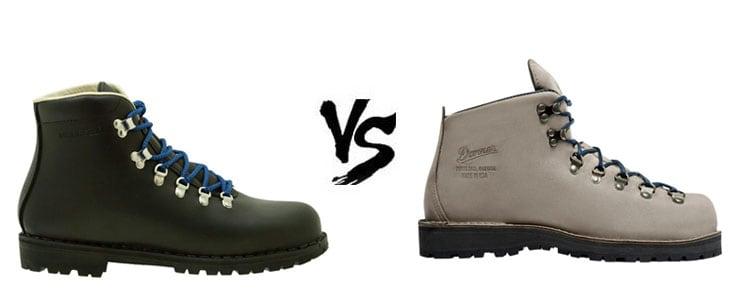 Merrell Wilderness Vs Danner Mountain Light Boots