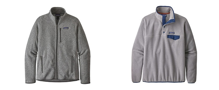 Patagonia Better Sweater vs Lightweight Synchilla Snap-T