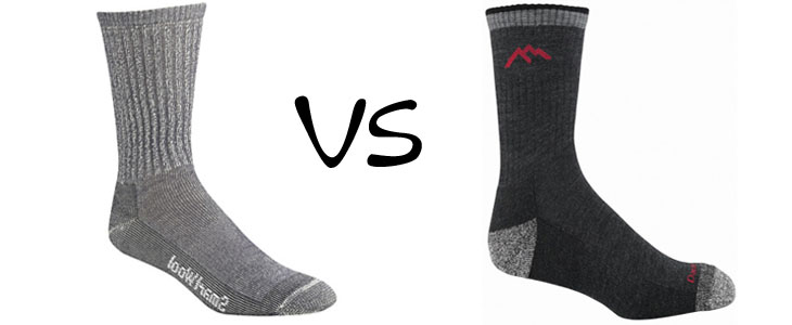 Smartwool vs Darn Tough vermont Merino Wool Socks