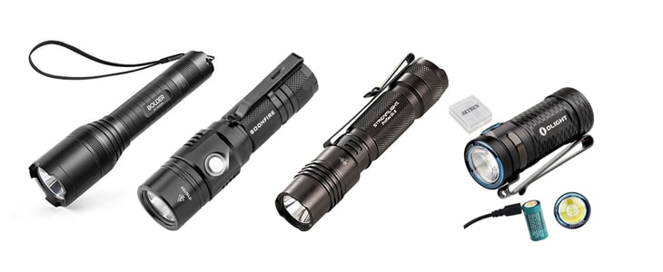 best rechargeable flashlight under $50