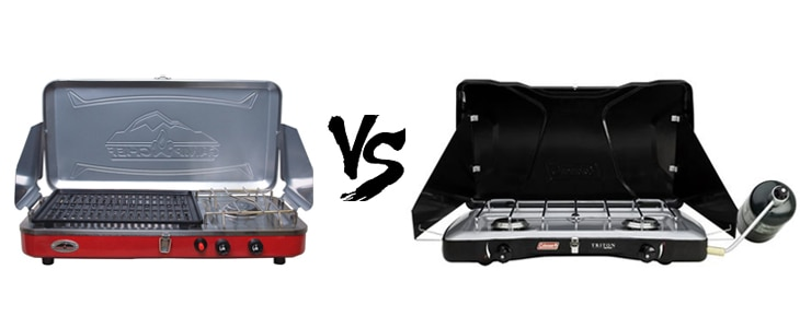camp chef everest vs coleman triton