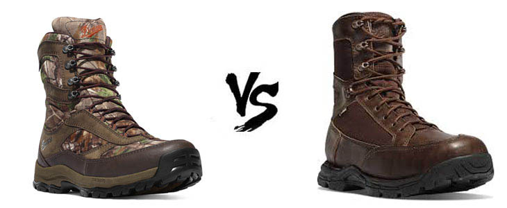 danner high ground vs pronghorn