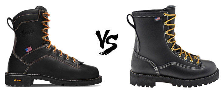 danner quarry vs rainforest