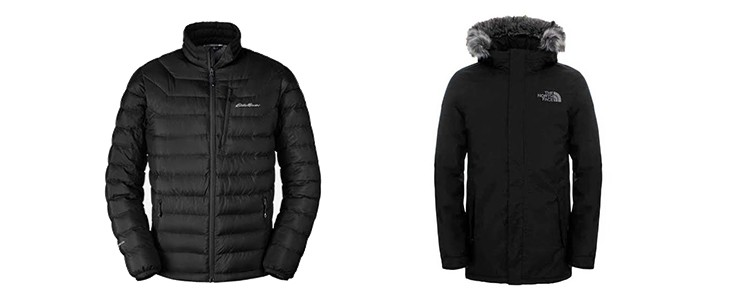 eddie bauer vs north face