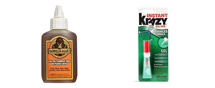 gorilla glue vs krazy glue