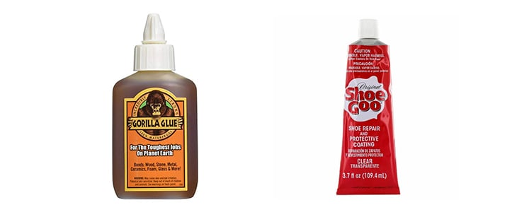 gorilla glue vs shoe goo
