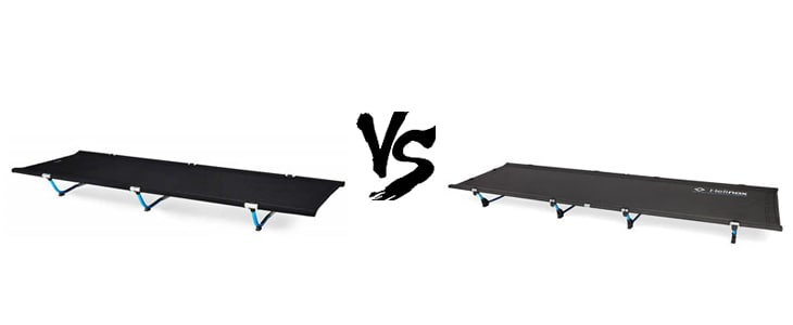 helinox cot one vs cot lite