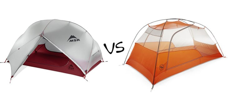 msr hubba hubba nx vs big agnes copper spur ul2