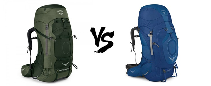 osprey aether 85 vs xenith 88