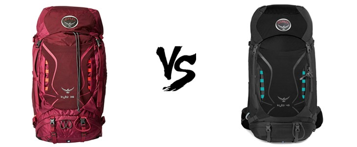 osprey kyte 36 vs 46