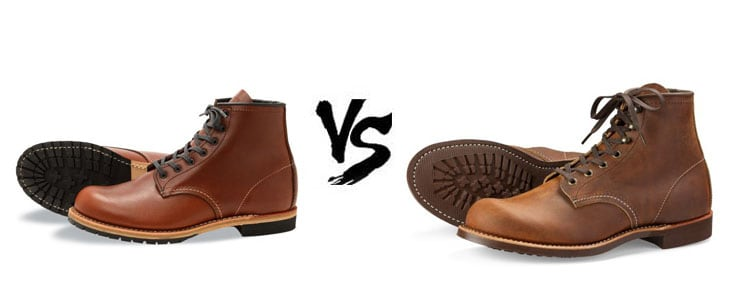 Red Wing Blacksmith Vs Beckman