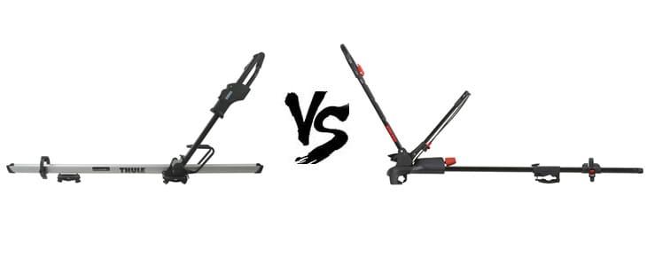 thule sidearm vs yakima frontloader