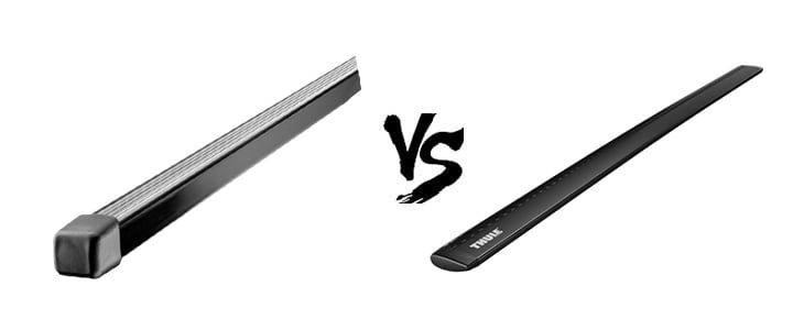 thule square bar vs aeroblade