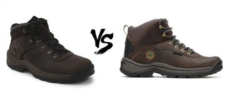 timberland flume vs white ledge